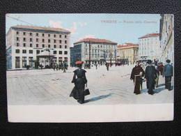 AK TRIESTE Piazza Della Caserma Ca.1910 // D*38358 - Trieste (Triest)