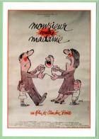 Carte Postale : Monsieur Contre Madame (film - Cinéma - Affiche) Illustration : Siné - Sine