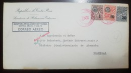 O) 1940 COSTA RICA, PERFINS, ISSUED TO OFFICIALS FOR POSTAL PURPOSES,OFFICIALLY RECOGNIZED - AMTLICH VERWERTET, OFICIA - Costa Rica