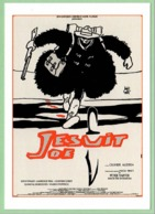 Carte Postale : Jesuit Joe (film - Cinéma - Affiche) Illustration : Hugo Pratt - Affiches Sur Carte