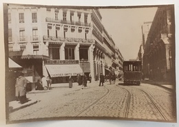 Photo. Toulouse. Tramway. The Red House : Chemises, Gants, Cravates. Magasin. Animé. - Old (before 1900)