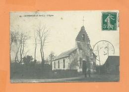 CPA - Authieule -( P.-de-C.) - L'église - Frankreich