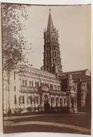 Toulouse. La Basilique Saint-Sernin. - Old (before 1900)