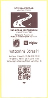 Gola Di Vintgar, Slovenia - Soteska Vintgar - Vintgar Gorge - Biglietto D'Ingresso 3 Ore Adulto - Biglietti D'ingresso
