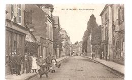 CPA Le Mans (72) Rue Prémartine Ecrite En 1918? - Le Mans