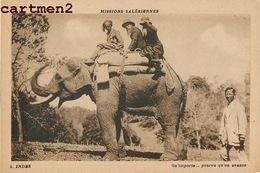 INDE INDIA MISSIONS SALESIENNES ELEPHANT MISSIONNAIRES ETHNIC ETHNOLOGIE - India