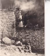 ALPUJARRA CORTIJO De LAS SUERTES 1954 Vue D'ensemble Photo Amateur Format Environ 7,5 Cm X 5,5 Cm ESPAGNE - Places