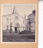 LA COROGNE Santa Maria Del CAMPO 1929  Vue D'ensemble Photo Amateur Format Environ 7,5 Cm X 5,5 Cm ESPAGNE - Places