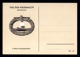 J48-GERMAN EMPIRE-MILITARY PROPAGANDA Unused POSTCARD WEHRMACHT DAY..WWII.DEUTSCHES REICH.POSTKARTE.carte Postale - Germania