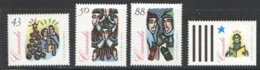 1994   Christmas Carolling Set Of 4 Sc 1533-6 MNH - 1952-.... Reign Of Elizabeth II