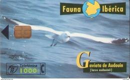TELECARTE ESPAÑA ESPAGNE FAUNA GAVIOTA - Autres