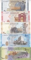 SYRIA 50 100 200 500 1000 LIRA  2009 2013 P-112 113 114 115 116 P-NEW UNC SET */* - Siria