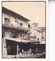 SANTILLANA Del MAR Cantabrie ESPAGNE 1929 Vue Du Port Photo Amateur Format Environ 7,5 Cm X 5,5 Cm - Places