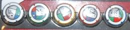 5 Plaque De Muselet De Champagne Jeux Olympiques De Londres 2012 Complet - Autres