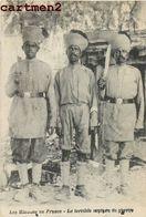 INDE INDIA LES HINDOUS EN FRANCE LE TERRIBLE COUTEAU DE GUERRE HINDOUS INDIAN MILITARY - War 1914-18