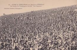 VENDAGES D'EPERNAY. UN HORDON DE VENDAGEURS. COLLECTION PAILLARD CHAMPAGNES, PUBLICITEE. CIRCA 1900s TBE - BLEUP - Epernay