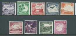 Nauru 1954 Definitive Set 9 Fine Mint - Nauru