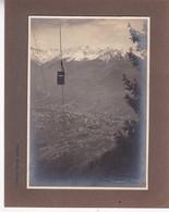 MERANO. TELEFERICOA AVELENGO. PHOTO LEO BAEHRENDT YEAR 1925 Cm.21x16 - BLEUP - Luoghi