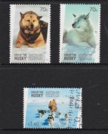 Australian Antarctic 2014 Era Of The Husky Three Used - Australian Antarctic Territory (AAT)