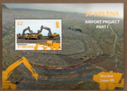 2014 Airport Project Mini Sheet MNH - Saint Helena Island