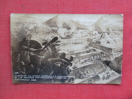 RPPC  Invasion De Los Nahuas     Ref 3374 - Native Americans