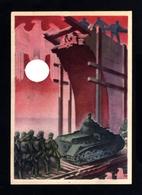 15711-GERMAN EMPIRE-MILITARY PROPAGANDA POSTCARD WEHRMACHT.WWII.Hoffmann.DEUTSCHES REICH.Postkarte.Carte Postale - Germania