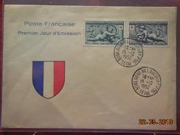 FDC De 1952 Croix Rouge - 1950-1959