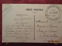 Carte De 1914 à Destination De Fontainebleau (cachet Corps D'armée) - Postmark Collection (Covers)