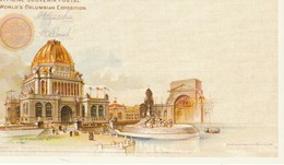 Reprints Of Official Souvenir Postal Of World's Columbian Exposition, Chicago 1893 Administration Building - Exhibitions