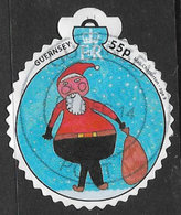 Guernsey 2014 Christmas 55p Good/fine Used [31/27791/ND] - Guernsey