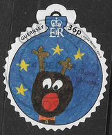 Guernsey 2014 Christmas 36p Good/fine Used [31/27788/ND] - Guernsey