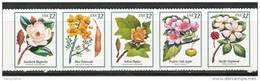 US    1998   Sc#3197a    32c  Flowering Trees Strip Of 5  MNH   Face $1.60 - United States