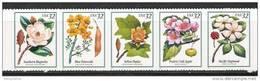 US    1998   Sc#3197a    32c  Flowering Trees Strip Of 5  MNH   Face $1.60 - Estados Unidos