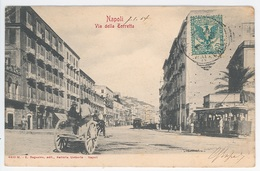NAPOLI -- VIA DELLA TORETTA - Napoli