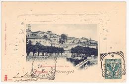 BERGAMO -- PANORAMA DELA CITTA ALTA - Bergamo