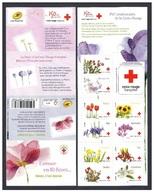France 2014 - Carnet Croix-Rouge - L'amour En 10 Fleurs 150 Aniv. Stamp Booklet Mnh - Cruz Roja