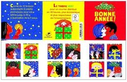 France 2015 - Bonne Annee ** Stamp Booklet Mnh - Cruz Roja