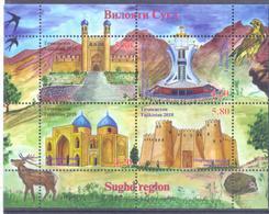 2018. Tajikistan, Sughd Region, S/s, Mint/** - Tadschikistan
