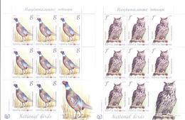 2019. Transnistria, National Birds, 2 Sheetlets, Mint/** - Moldova