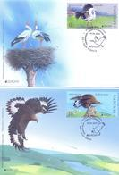 2019. Moldova, Europa 2019, National Birds,  FDC, 2v, Mint/** - Moldova