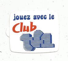 Autocollant , Télévision, Jouez Avec Le CLUB TF1 - Autocollants
