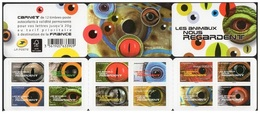 France 2015 - Les Animaux Nos Regardent ** Stamp Booklet Mnh - Cruz Roja