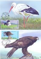 2019. Moldova, Europa 2019, National Birds,  Maxicards, 2v, Mint/** - Moldova