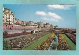 Old Small Post Card Of Sunken Gardens,Brighton,Sussex,V91. - Brighton