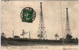 61thp 527 CPA - EPINAL - LES PYLONES DE LA TELEGRAPHE SANS FIL (fold) - Epinal