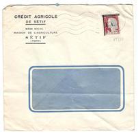 17635 - De SETIF - Marcophilie (Lettres)