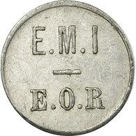 Monnaie, France, E. M. I, E. O. R, Saint-Maixent, 25 Centimes, TTB, Aluminium - Monétaires / De Nécessité