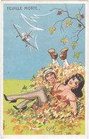 BARRIERE. Feuille Morte (aviation, Parachutiste) - Illustrateurs & Photographes
