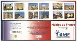 France 2015 - Mairies De France ** Stamp Booklet Mnh - Cruz Roja
