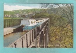 Old Small Post Card Of Pontcysyllte Aqueduct,Llangollen,WalesV92. - Wales